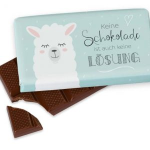 Keine Schokolade ist auch keine Lösung