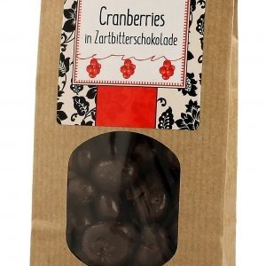 Cranberries in Zartbitter Schokolade 150g