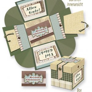 Wow-Box – Herzlichen Glückwunsch – grün