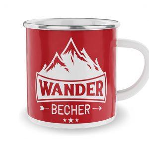 Emaille Becher-Wande Becher