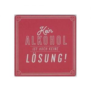 Kein Alkohol…