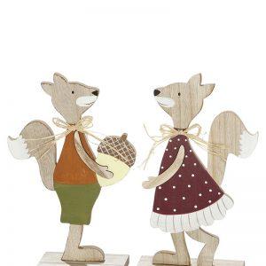 Eichhörnchen Mädchen und Junge
