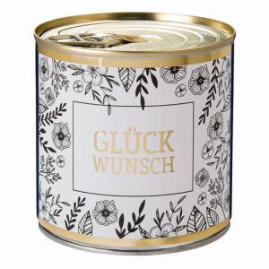 CanCake Glückwunsch gold-black (Schoko-Marzipan)