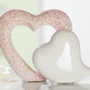 Keramik Doppelherz-Passion