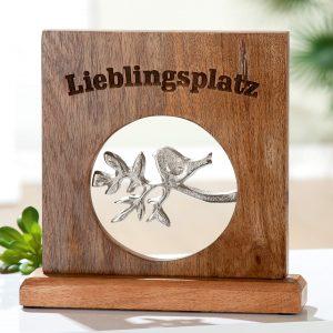Holz Standrelief-Lieblingsplatz