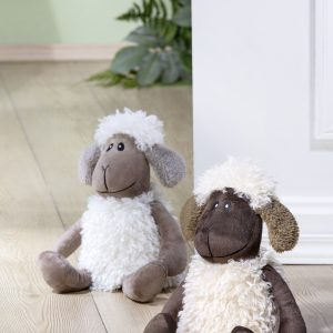 Stoff Türstopper Schaf