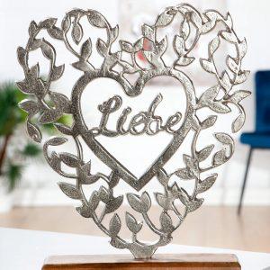 Alu Herz Liebe