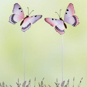 Gartenstecker Butterfly