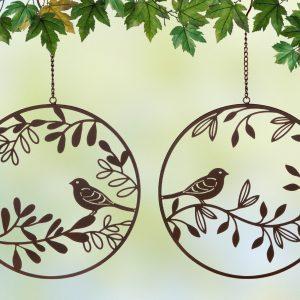 Metallhänger Vogelparadies