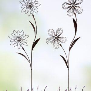 Gartenstecker Florale