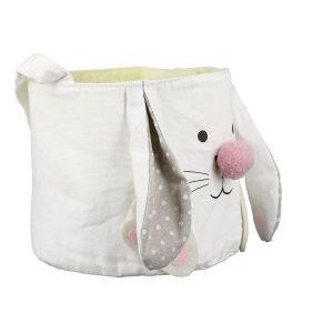 Stoff Osterkörbchen Bunny