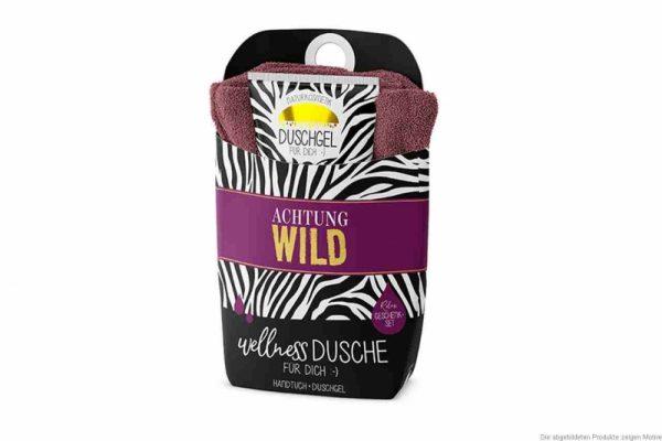 Wellnessdusche Achtung Wild