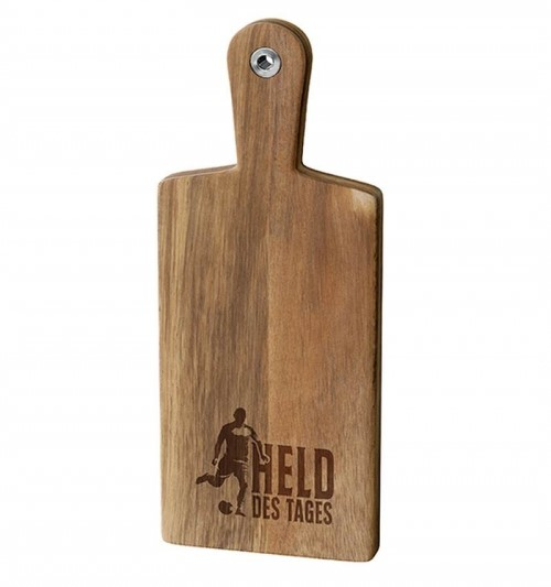 Holzbrett Held des Tages