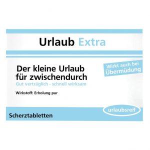 """Scherzpille """"Urlaub Extra"""""""