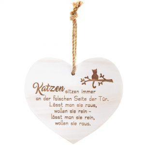 """Vintage Herz """"Katzen…"""""""