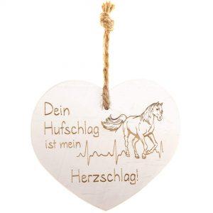 """Vintage Herz """"Dein Hufschlag…"""""""