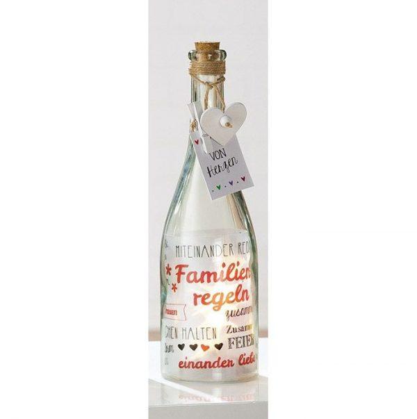 Flaschenpost Familie