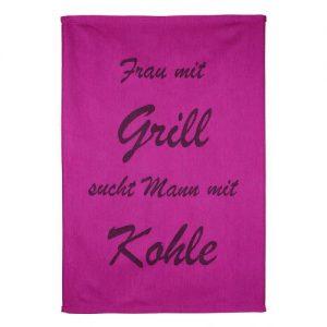 "Grill Set ""Frau mit Grill"""