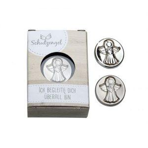 Schutzengel Medaille in Geschenkbox