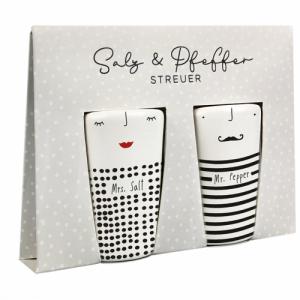 Streuer – Mrs. Salt und Mr. Pepper