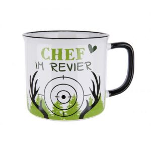 Keramik Becher Chef im Revier
